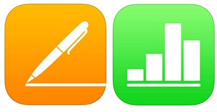 Apple iWork templates